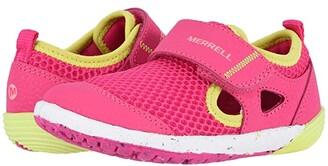 Merrell Bare Steps H20 (Toddler) (Pink) Girls Shoes