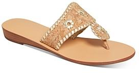 Jack Rogers Women's Jacks Cork Demi-Wedge Sandals
