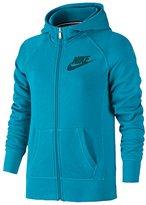 Nike GIRLS' GRADE SCHOOL YA76 SB FRANCHISE F/Z HOODIE Lagoon/Teal (XLARGE, Lagoon/Tea)