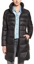 Bernardo Petite Women's Packable Coat With Down & Primaloft Fill