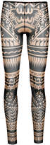 DSQUARED2 novelty print footless tights
