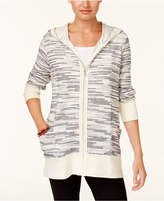 Style&Co. Style & Co Hooded Sweater Jacket, Created for Macy's
