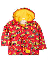 Hatley Construction Vehicle Print Raincoat