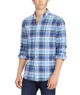 Polo Ralph Lauren Big & Tall Plaid Oxford Long-Sleeve Woven Shirt