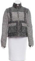 Chanel Metallic-Accented Tweed Jacket