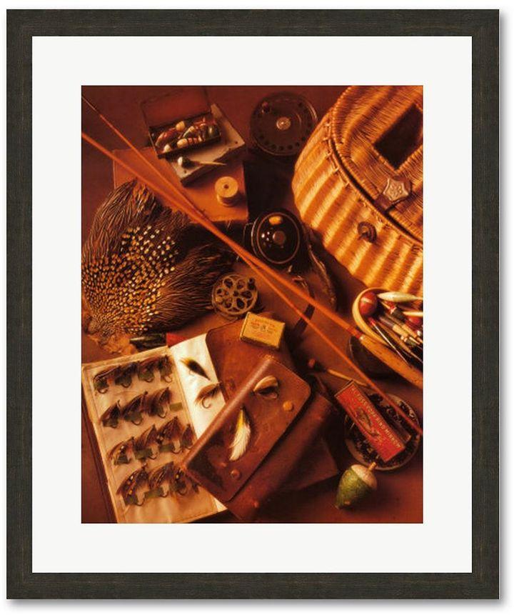"Harrison ""Fishing I"" Framed Art Print By Michael"