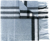 Burberry fringed checked scarf - women - Cashmere - One Size