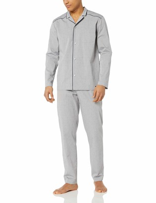 Hanro Men's Theo Long Sleeve Pajama Set