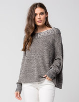 Free People Off The Shoulder Womens Sweater