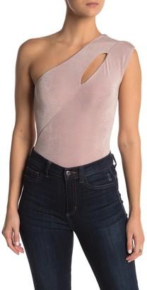 Socialite One-Shoulder Cutout Bodysuit