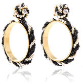 Shourouk Riri Black Earrings