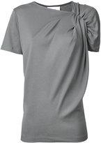 ASTRAET gathered sleeve T-shirt