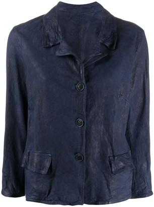 Salvatore Santoro Weathered Leather Jacket