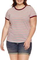 Arizona Ringer T-Shirt- Juniors Plus