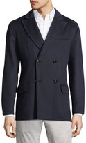 Kiton Menswear Cashmere Double-Breasted Coat