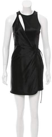 Alexander Wang Satin Cutout Dress w/ Tags