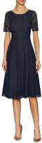 LK Bennett Celine Lace Flare Dress