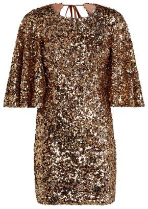 Shona Joy Faye Sequin Mini Dress