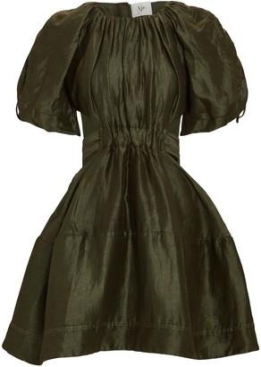 Aje Oxidised Cut-Out Mini Dress