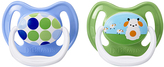 Dr Browns Blue PreVent Stage 1 Pacifier - Set of Two