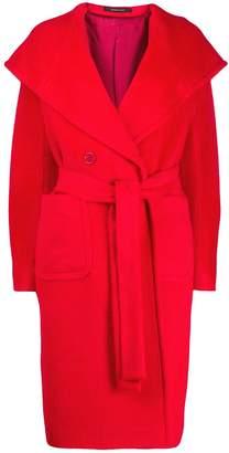 Tagliatore long hooded coat