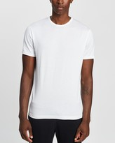 Thumbnail for your product : Sunspel Men's White Basic T-Shirts - Short Sleeve Classic Crew Neck T-Shirt - Size S at The Iconic