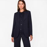 Paul Smith Women's Navy Wool-Viscose Blazer