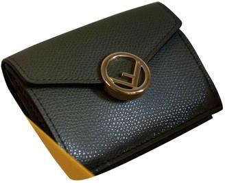 Fendi Green Leather Wallets
