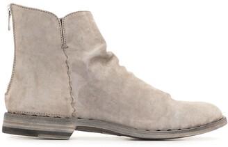 Officine Creative Suede Desert Boots