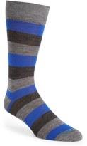 Lorenzo Uomo Men's Rugby Stripe Socks