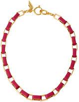 Diane von Furstenberg Love Links Metal Necklace