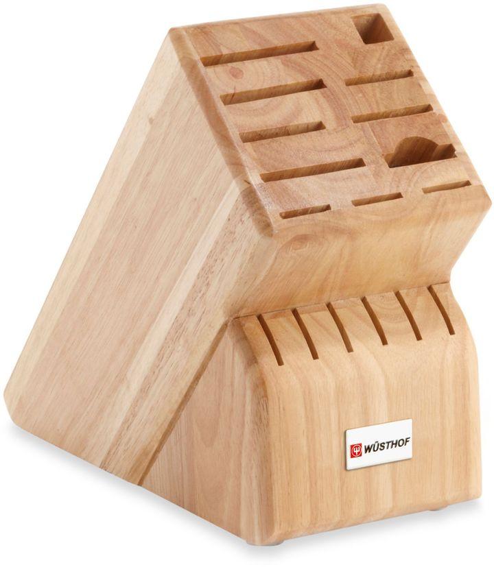 Wusthof 17-Slot Wood Knife Block