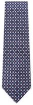 Salvatore Ferragamo Gancini Flower Print Tie