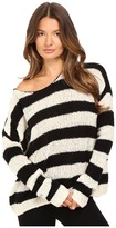 ATM Anthony Thomas Melillo Boat Neck Drop Shoulder Sweater Women's Sweater