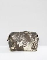 Mi-Pac Make-Up Bag in Tropical Metallic