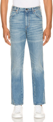 Gucci Marble Washed Denim Pant in Blue | FWRD