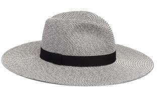 Eugenia Kim Emmanuelle Two-Tone Packable Wide-Brim Fedora Hat