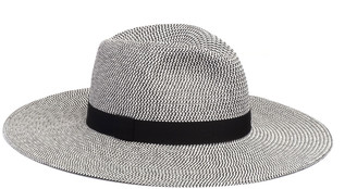 Eugenia Kim Emmanuelle Two-Tone Packable Wide-Brim Fedora Hat