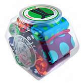 LittleMissMatched Little MissMatched As Is little missmatched Marvelous Dots 12-pack Jar of Knee High Socks