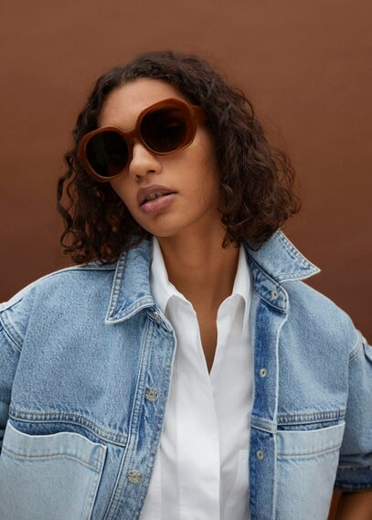 Thumbnail for your product : MANGO Oversize sunglasses