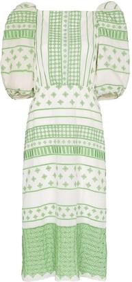 Johanna Ortiz Culture Embroidered Dress