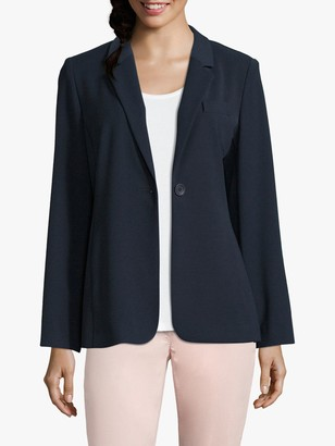 Betty Barclay Long Tailored Blazer, Dark Sky