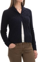 Woolrich Hannah Short Cable Cardigan Sweater (For Women)