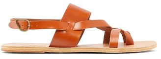 Ancient Greek Sandals Alithis Leather Sandals - Mens - Tan