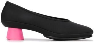 Camper Alright contrast heel pumps