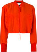 Alexander Wang cropped bomber jacket