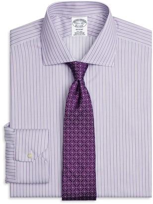 Brooks Brothers Non-Iron Regent Fit Stripe Dress Shirt