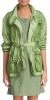Tomas Maier Women's Weathered Nylon Safari Jacket