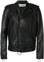 Off-White arrow biker jacket