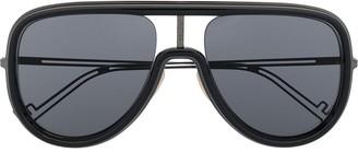 Fendi FFM0068S aviator-frame sunglasses